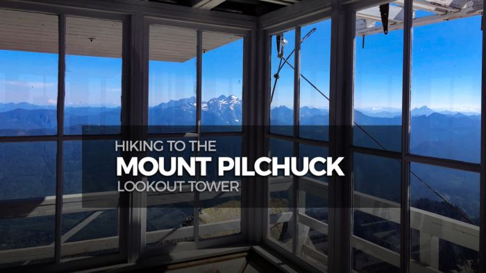 Hiking to the Mt Pilchuck Lookout Tower