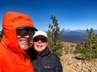 Jeff & Joan at Maiden Peak