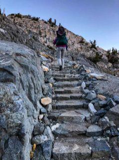 Day 6 - Ascending to Glen Pass