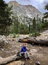 Day 4 - the Woods Creek JMT Junction campsite