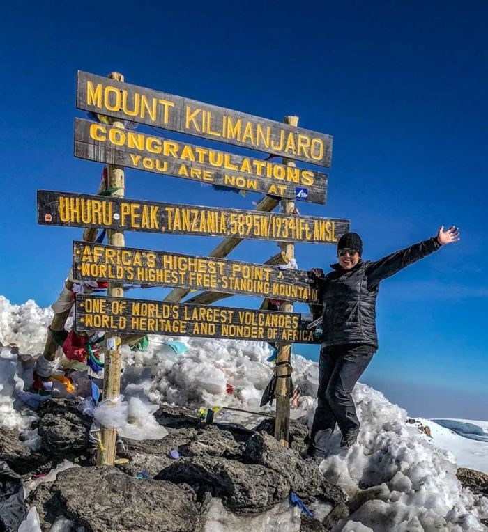 Summit of Mt Kilimanjaro