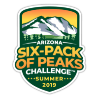 Arizona Summer Six-Pack of Peaks Challenge