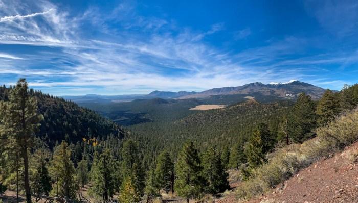 Views from O'Leary Peak near Flagstaff Arizona