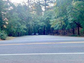 Mt Saint Helena trailhead parking