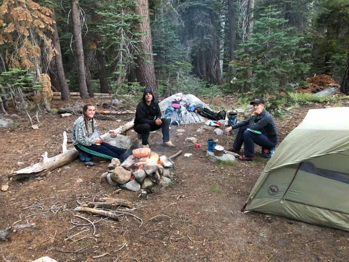 Campsite at Buena Vista Creek crossing