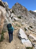 The Final Ascent to Red Peak Pass