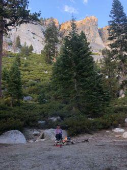 Washburn Lake campsite
