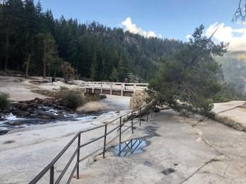 Top of Nevada Falls - NO people