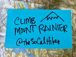 My big 2020 adventure goal - Climbing Mount Rainier