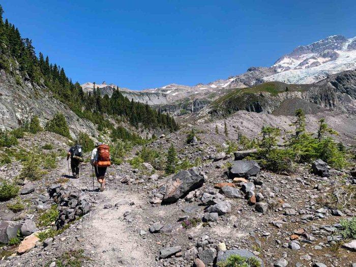 Climbing Emerald Ridge