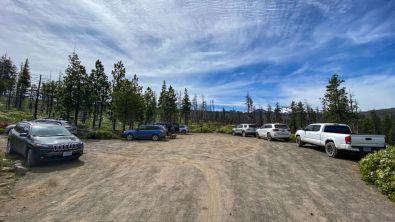 Chush Falls parking
