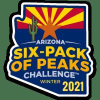 2021 Arizona Winter Six-Pack of Peaks Challenge
