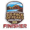 2018 NorCal Six-Pack of Peaks Finisher