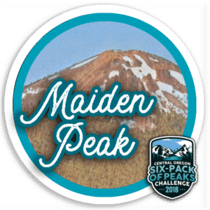 I hiked Maiden Peak