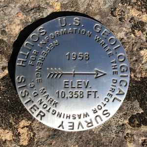 South Sister Benchmark
