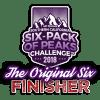 2018 SoCal Original Six-Pack of Peaks Finisher