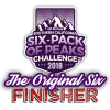 2018 SoCal Original Six-Pack of Peaks Finisher