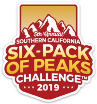 2019 SoCal Six-Pack of Peaks Challenge