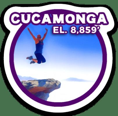 Cucamonga Peak Sticker