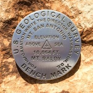 Mount San Antonio benchmark