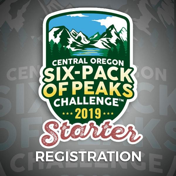 2019 Central Oregon Six-Pack of Peaks Challenge Starter Registration