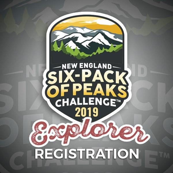 2019 New England Six-Pack of Peaks Challenge Explorer Registration
