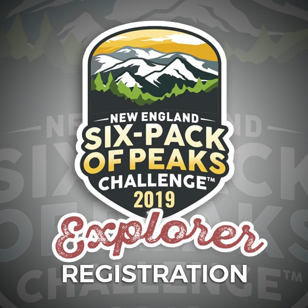2019 New England Six-Pack of Peaks Challenge Explorer Registration