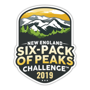 2019 New England Six-Pack of Peaks Challenge logo