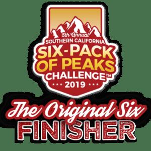 2019 SoCal Original Six-Pack Finisher
