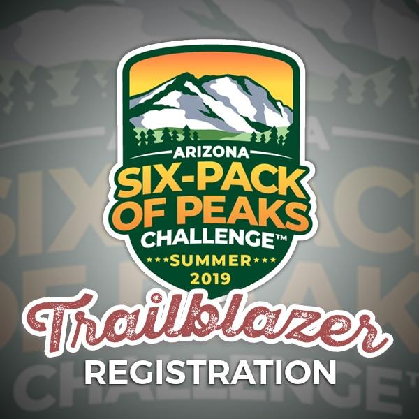 2019 Arizona Summer Six-Pack of Peaks Challenge - Trailblazer Registration