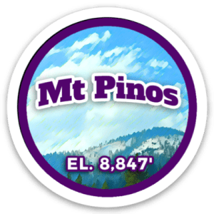 Mount Pinos Sticker