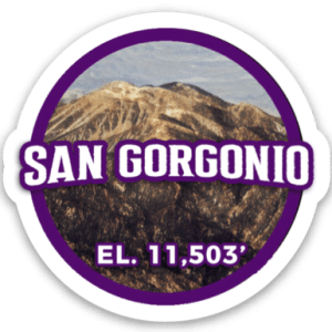 San Gorgonio Sticker