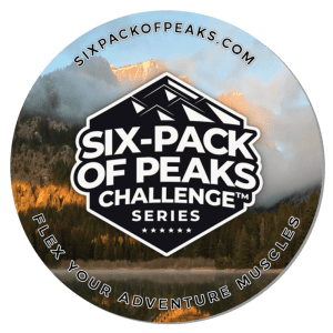 Six-Pack of Peaks Series Coaster