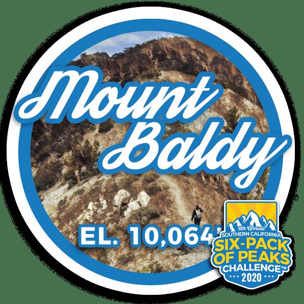 I hiked Mount Baldy