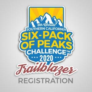 2020 SoCal Six-Pack of Peaks Challenge - Trailblazer Registration