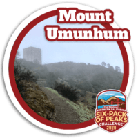 2020 Mount Umunhum Badge