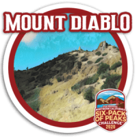2020 Mount Diablo Badge