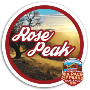 2020 Rose Peak Badge