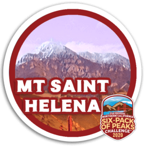 2020 Mount Saint Helena Badge