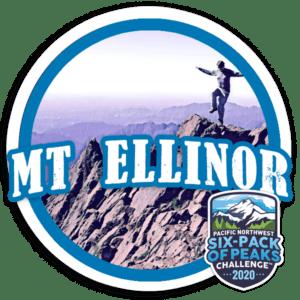 2020 Mount Ellinor badge