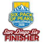 2020 San Diego Six-Pack Finisher