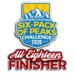 2020 SoCal All 18 Finisher