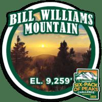2020 Bill Williams Mountain badge