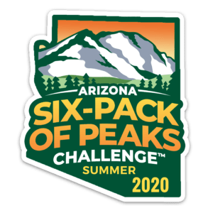 2020 Arizona Summer Six-Pack of Peaks Challenge logo