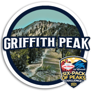 Griffith Peak - Las Vegas Six-Pack of Peaks Challenge