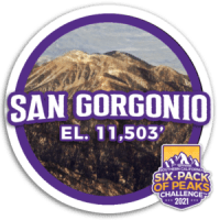 2021 San Gorgonio badge