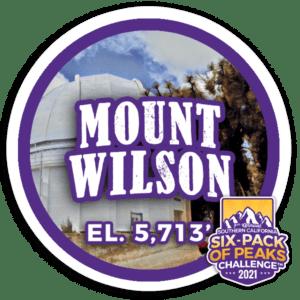 2021 Mount Wilson BADGE