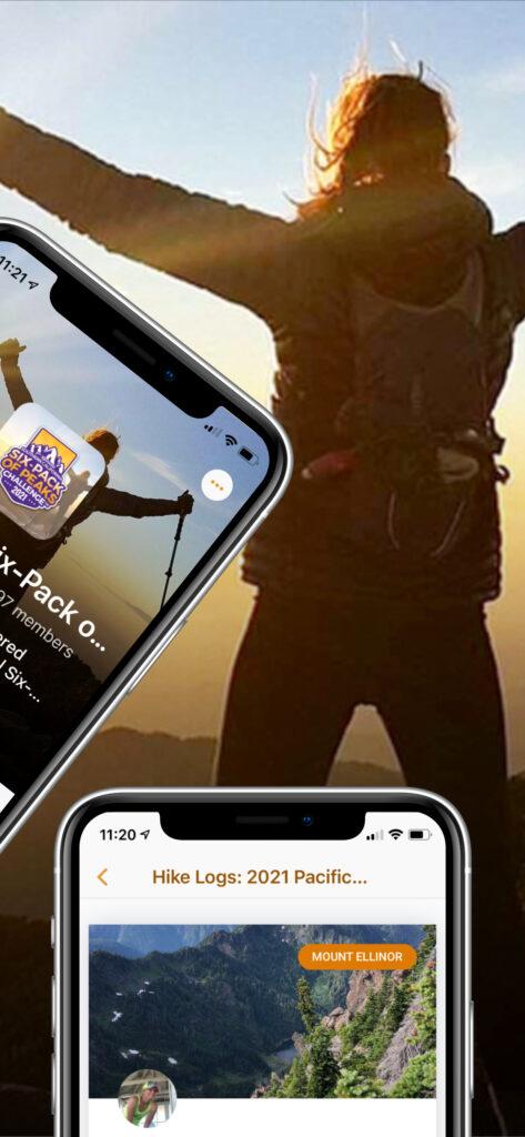 Social Hiker app