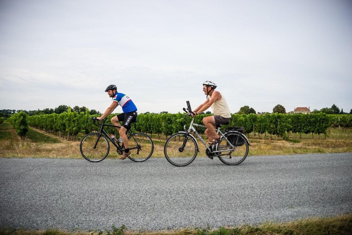 fietstocht naar Santiago de Compostela