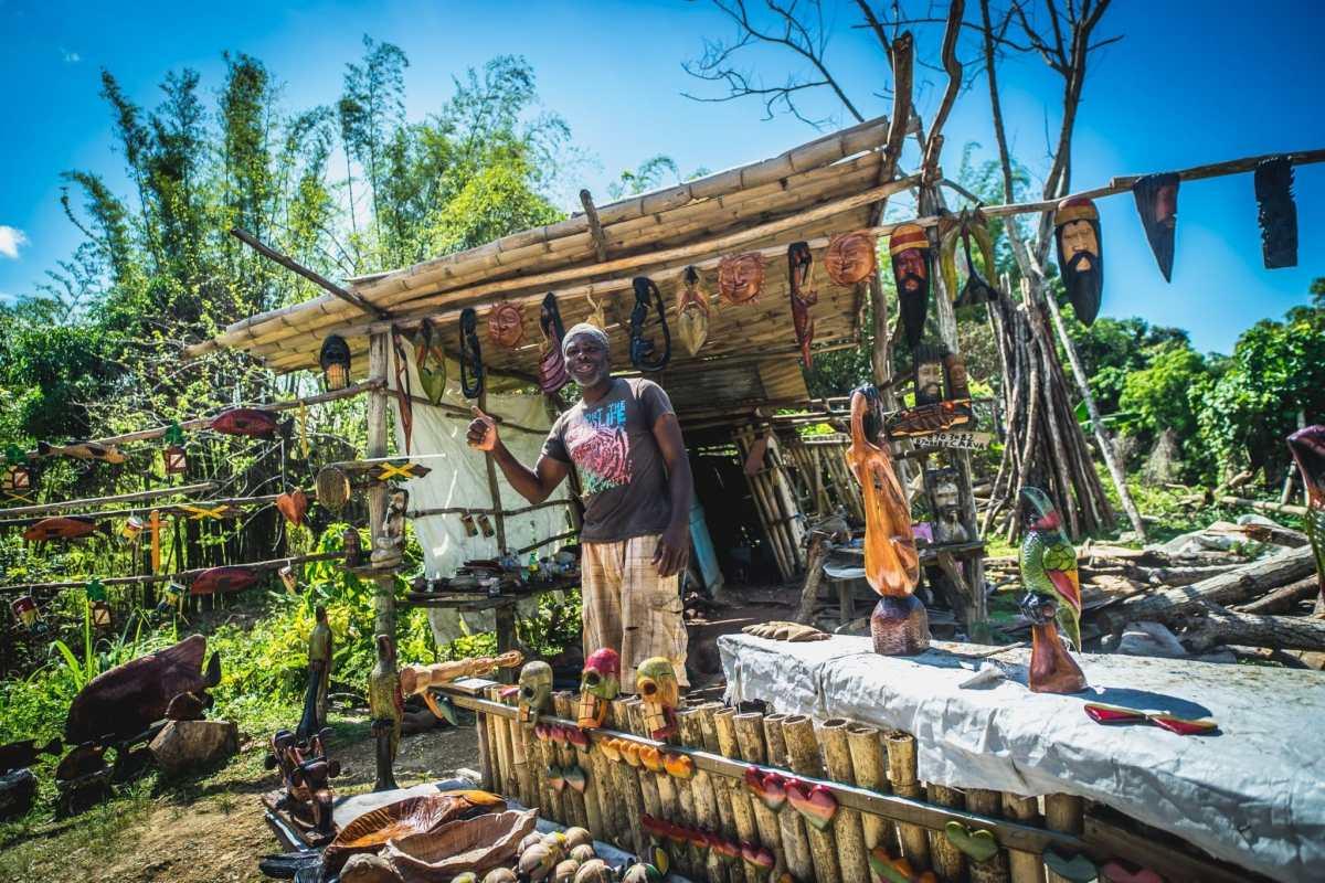 Portret fotografie Jamaica